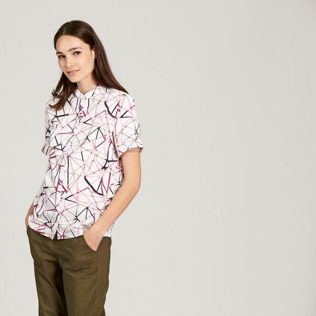 Flexible short-sleeved shirt