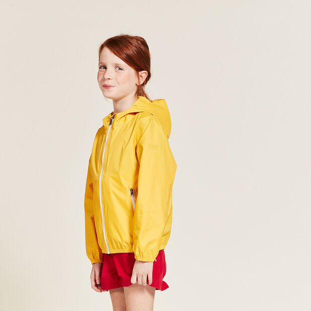 Packable raincoat