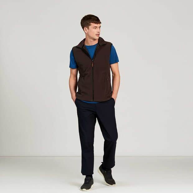 Versatile fleece bodywarmer