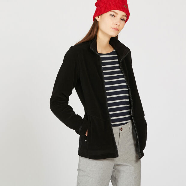 Versatile fleece jacket