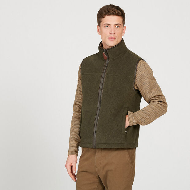 Polartec® sheepskin bodywarmer