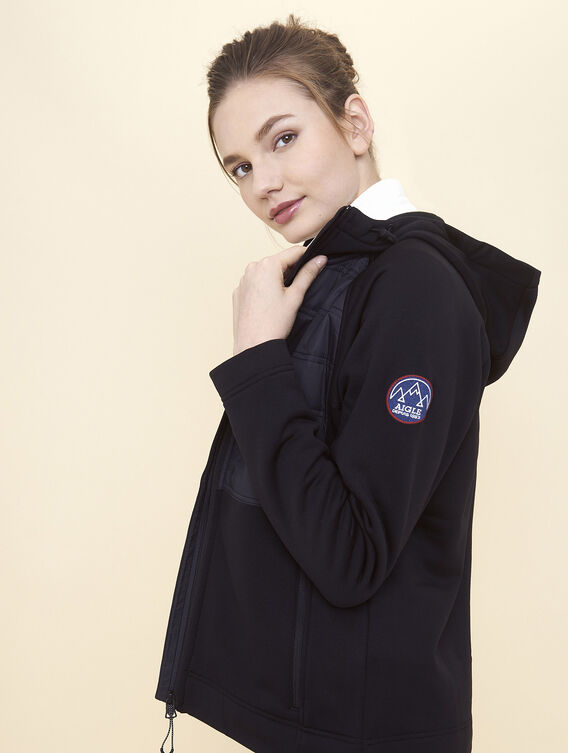 Warm Polartec® fleece hoodie