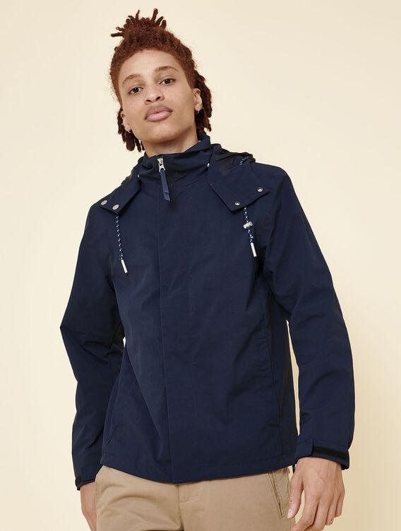 Short water-repellent jacket