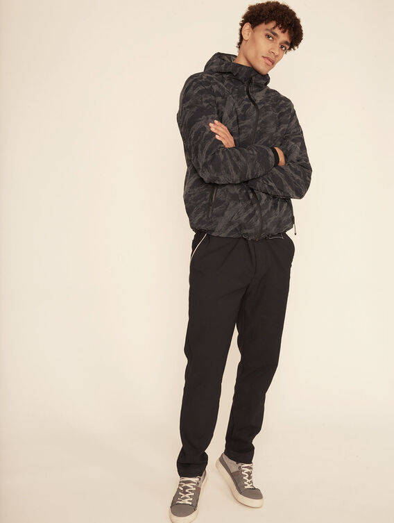 Relaxed-fit thermal trousers