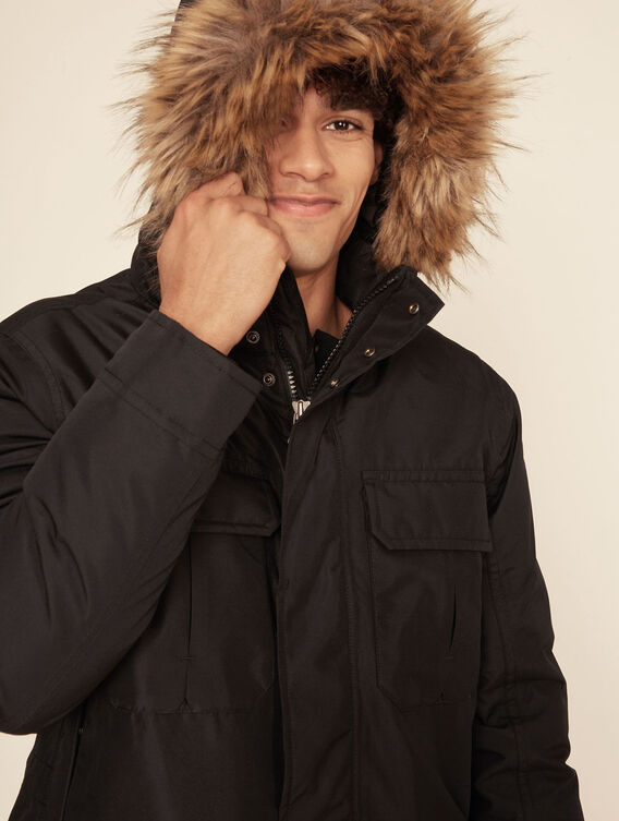 Waterproof, breathable expedition parka