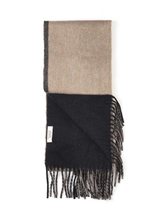 Men's wool scarf
