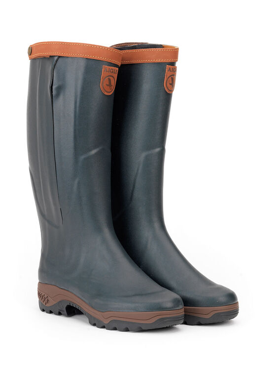Men's leather-lined hunting boots