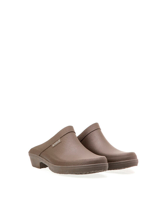 Men's rubber gardening clogs