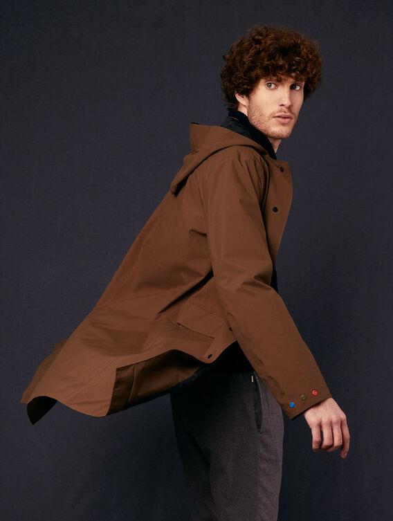 Wasserundurchlässige und leichte lange Jacke