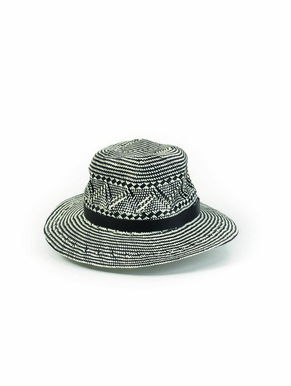Women's straw Panama hat