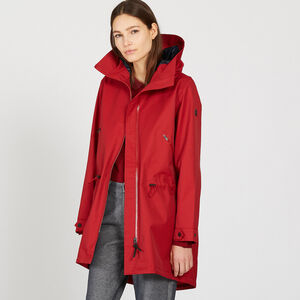 "Parka ""fishtail"" longue contemporaine"