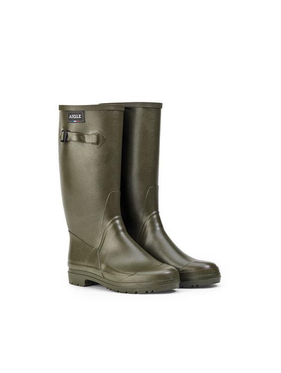 Women's rubber gardening boots