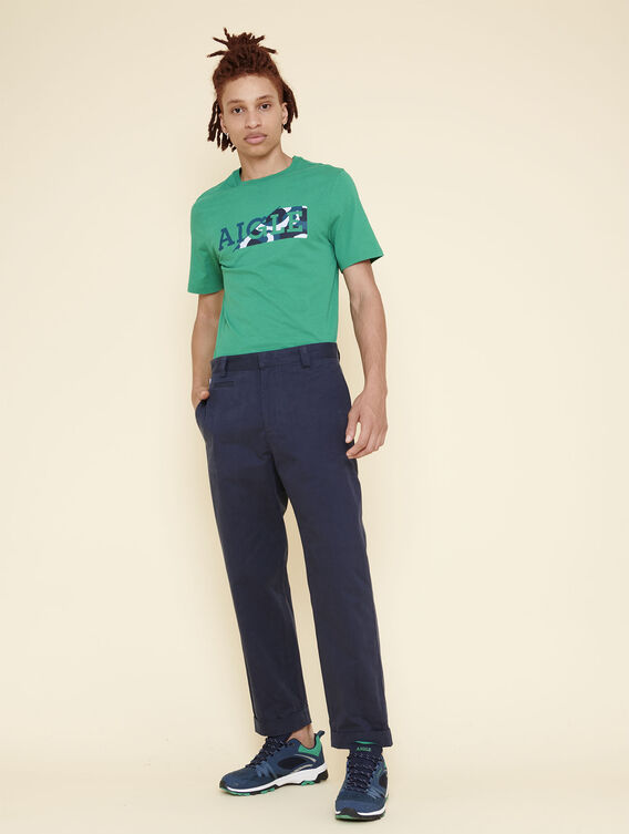 Carrot fit chino trousers