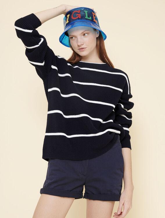 Oversized sailor's jumper