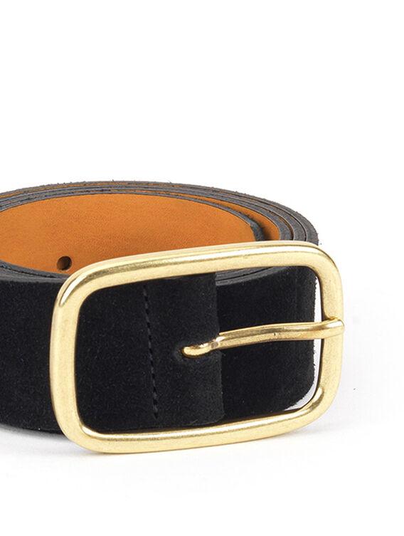 Women's leather belt