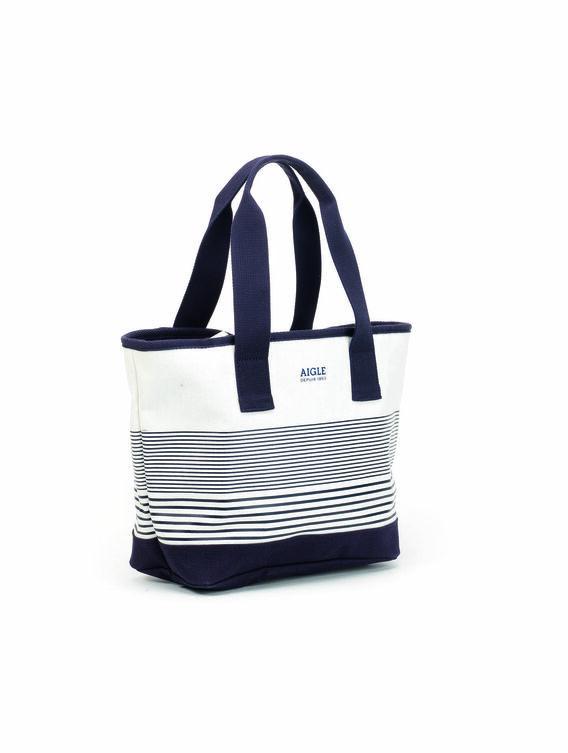 Women's large cotton beach bag