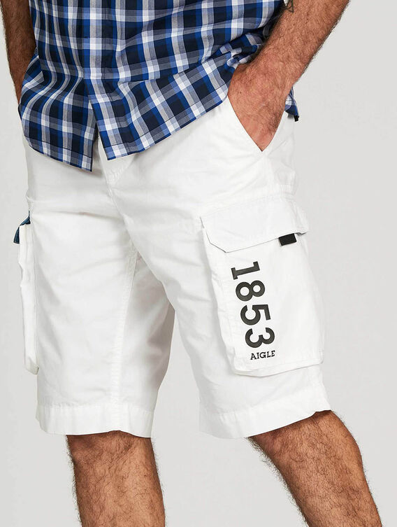 Cargo-pocket shorts