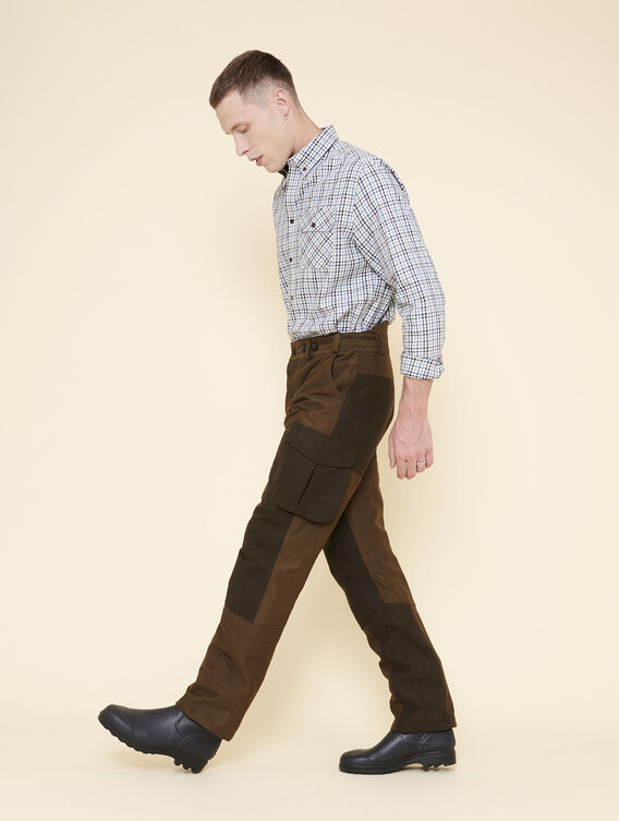 Warm lined hunting trousers