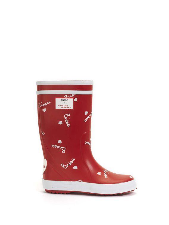 Children's rain boots x Mathilde Cabanas