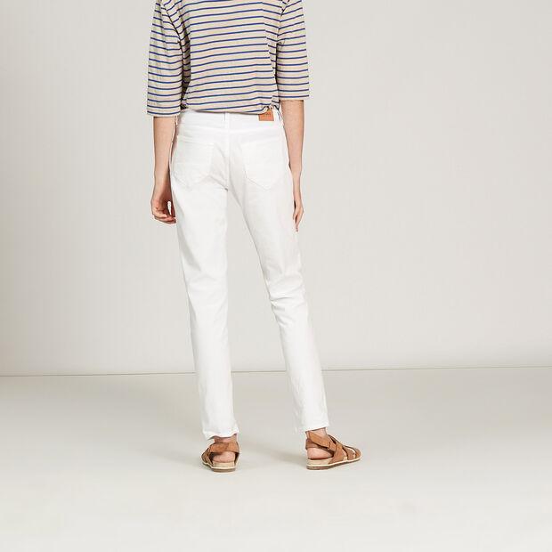 Pantalon 5 poches en stretch