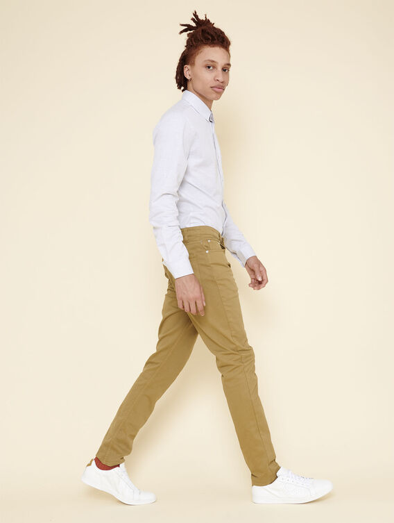 Pantalon ajusté stretch
