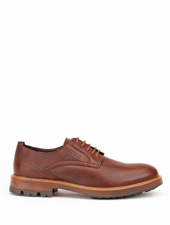Derby en cuir made in portugal Homme