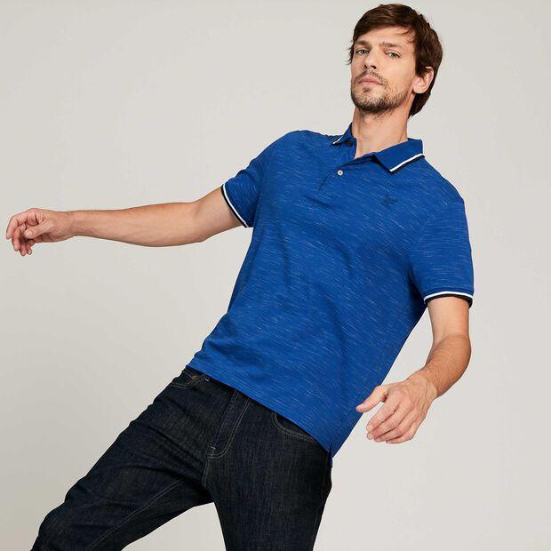 Poloshirt mit kurzen Ärmeln und UV-Schutz