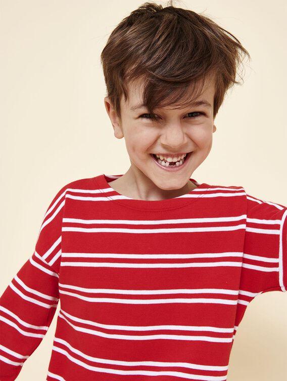 Marinière en coton pour enfant