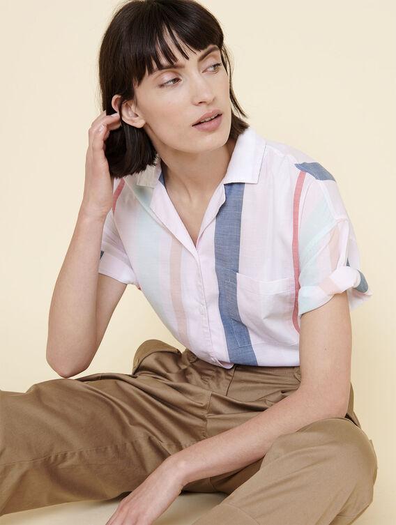 Retro striped shirt