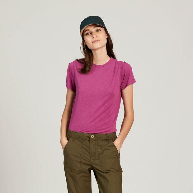 Kurzarm-T-Shirt mit Wärmeregulierung