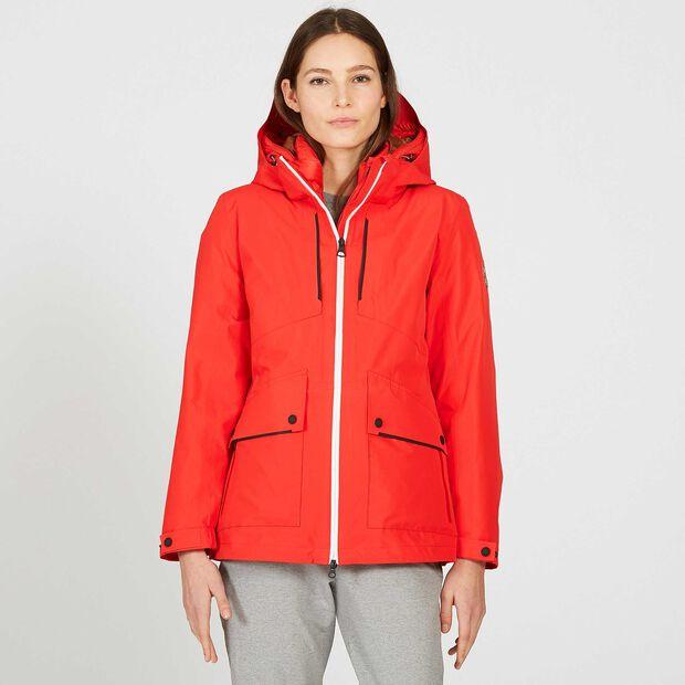 Women's waterproof warm skiing jacket