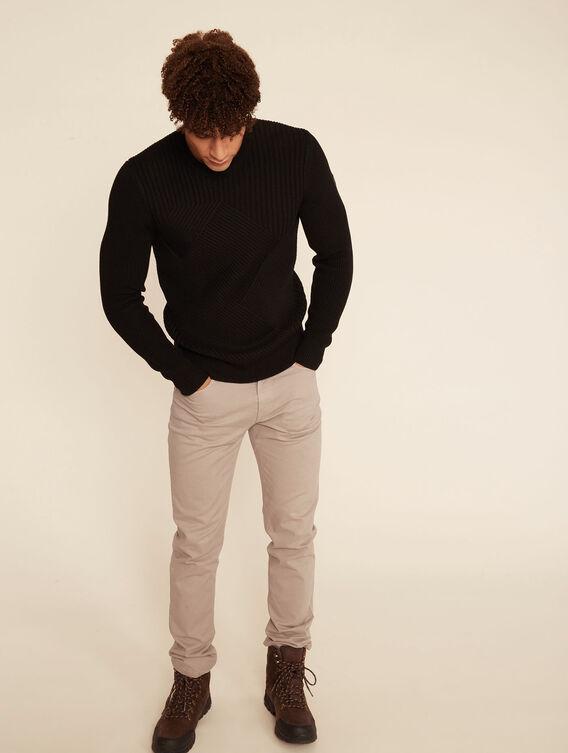 Dicker Pullover aus Merinowolle