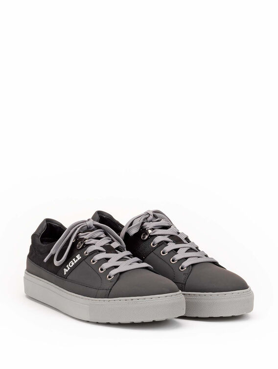 Baskets en cuir made in Portugal Homme
