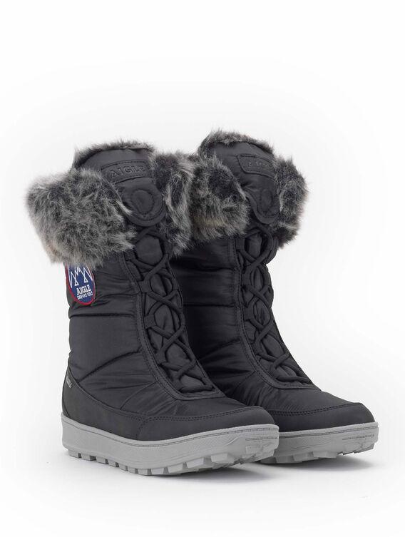 Women's fur-lined après-ski boots