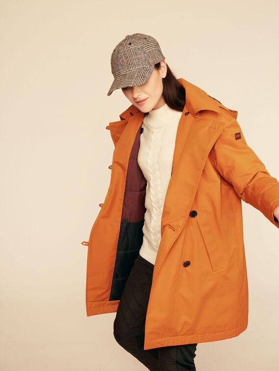 Warm Gore-Tex® expedition coat