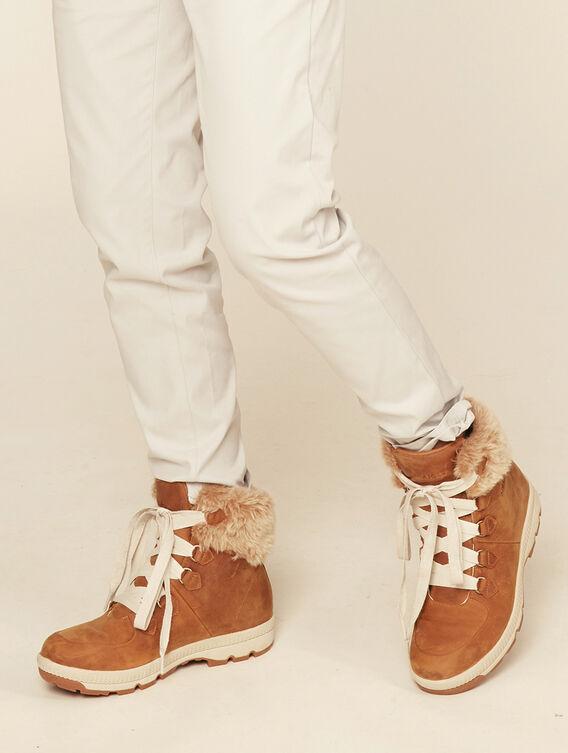 Chaussures fourrées chaudes Femme
