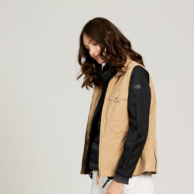 Anti-UV sleeveless jacket