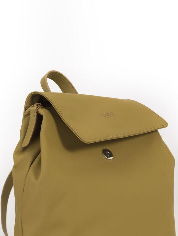 Women's rubber backpack