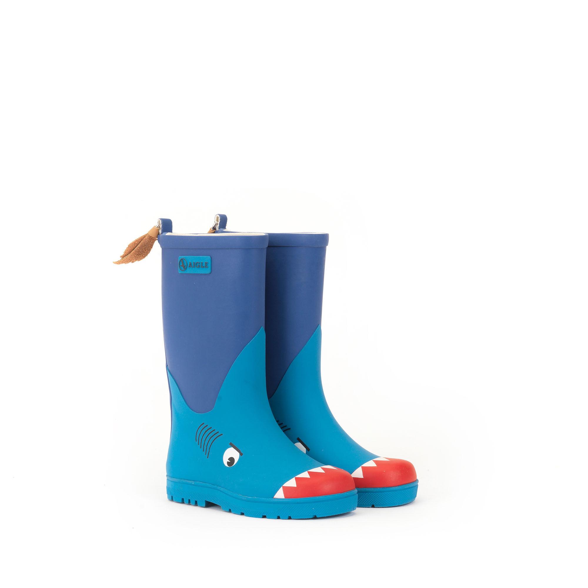 woodypop fun bottes caoutchouc enfant requin aigle. Black Bedroom Furniture Sets. Home Design Ideas