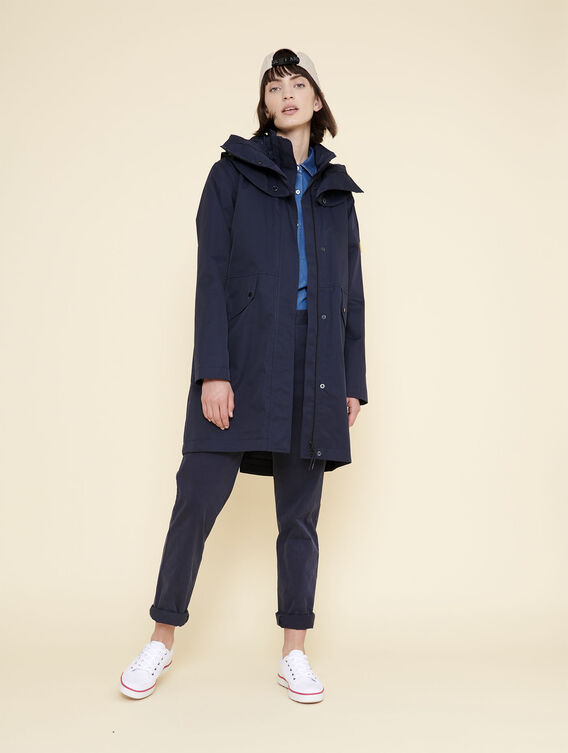 Waterproof timeless parka
