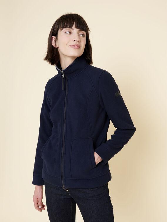 Double-sided fleece jacket