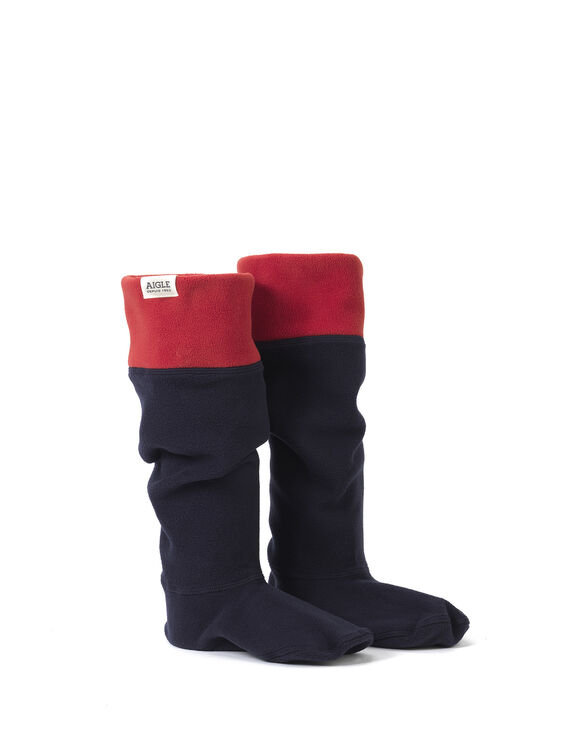 Women's fleece boot socks