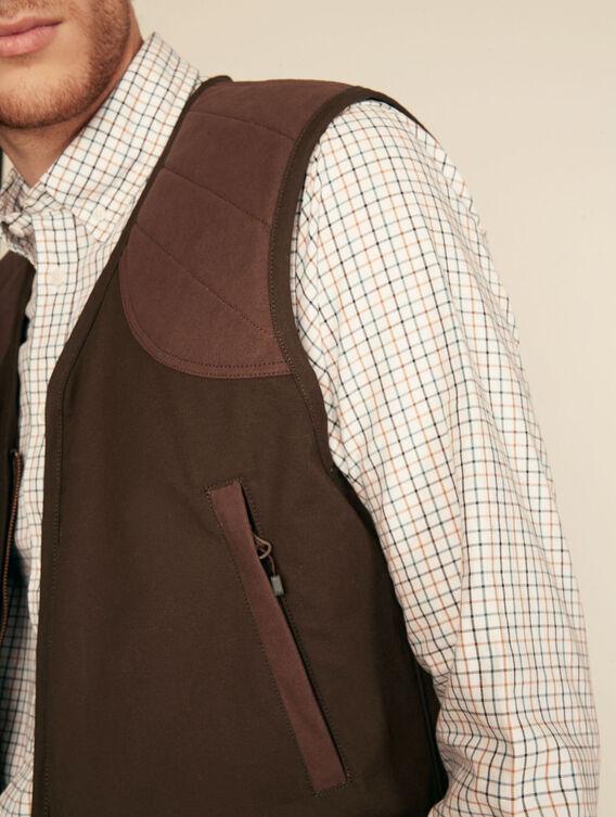Water-repellent hunting vest