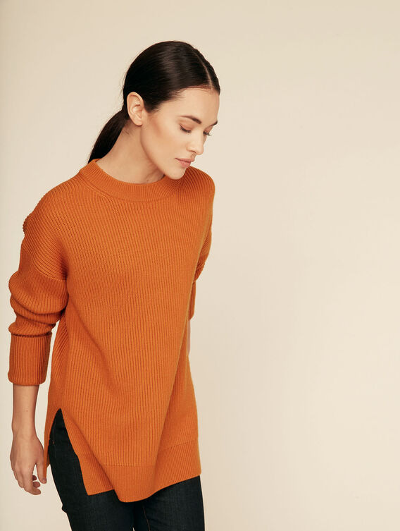 Long warm elegant jumper