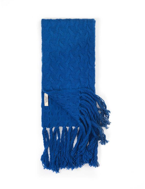 Women's wool scarf