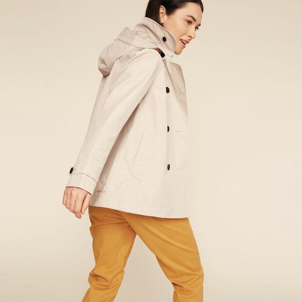 Waterproof and windproof trench coat
