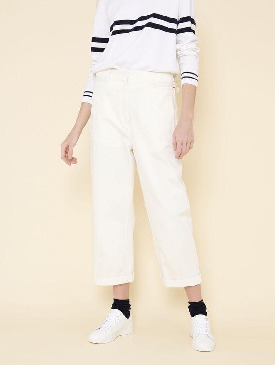 Pantalon 7/8 coupe carrote