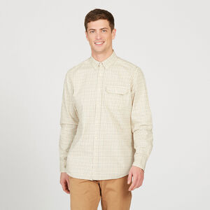 Chemise à carreaux traditionnelle