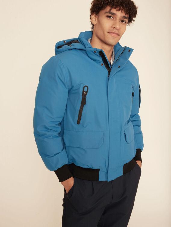 Warm waterproof jacket