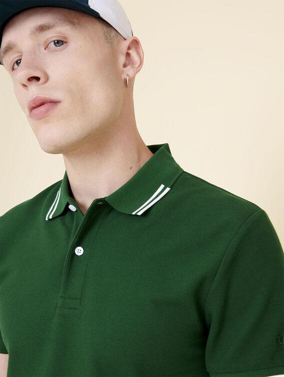 Wärmeregulierendes Baumwoll-Poloshirt